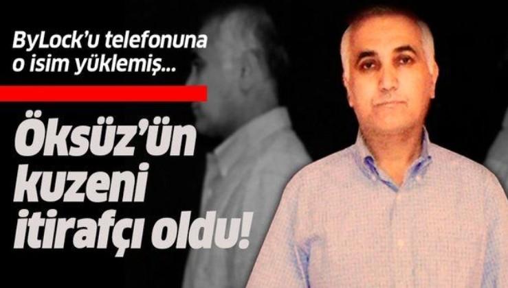 FETÖ'nün firari sivil imamı Adil Öksüz'ün kuzeni itirafçı oldu: ByLock'u telefonuma Berat Koşucu yükledi.