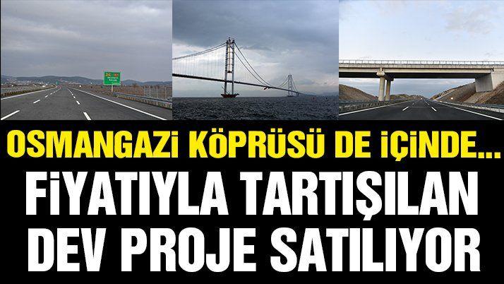 Osmangazi Köprüsü'nde hisse satışı için JPMorgan'a yetki