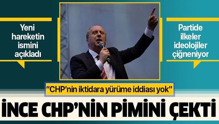Son dakika: Muharrem İnce'den CHP yönetimine ağır eleştiriler