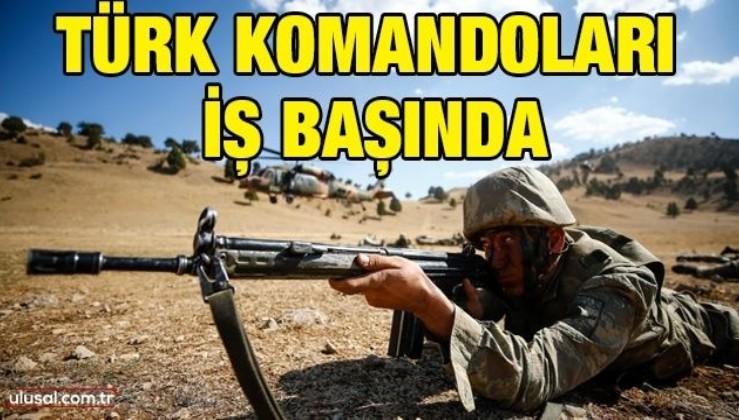 Türk Komandoları iş başında