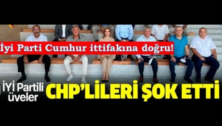 İYİ Partili üyelerin Cumhur İttifakı'na desteği CHP'lileri şok etti
