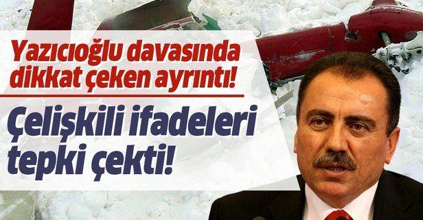 Muhsin Yazıcıoğlu davasında tanığın çelişkili ifadeleri tepki çekti!.