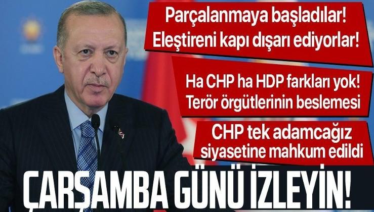 Erdoğan Çarşamba gününe işaret etti: Sizlere birçok güzellikleri duyuracağım