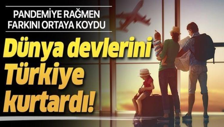 Türkiye, dünya turizm sahnesinde daha da öne çıktı! Devlerin yükünü Türkiye sırtladı