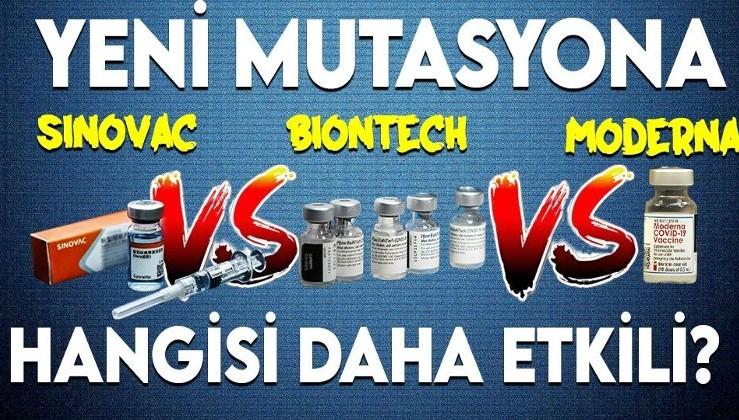 Koronavirüs mutasyonuna hangi aşı daha etkili? Türkiye'yi ferahlatan haber!