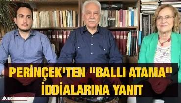 """Sadık Can Perinçek'ten """"ballı atama"""" iddialarına yanıt"""