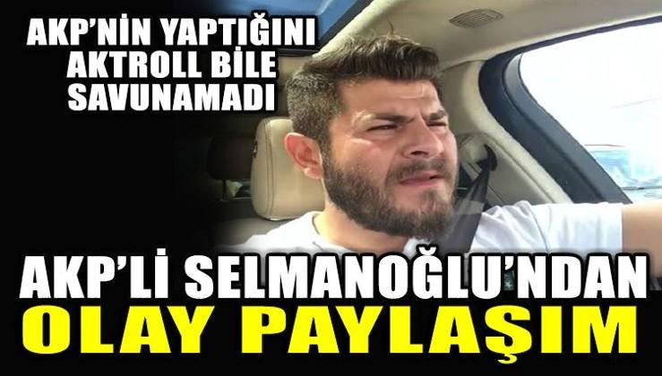 AKP'nin yaptığını AK Troll bile savunamadı