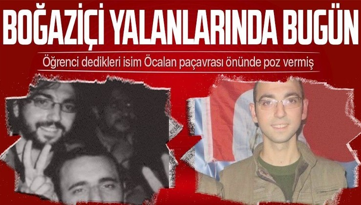 Boğaziçi yalanı bu kez tutmadı! PKK'lı teröristi öğrenci olarak göstermeye çalıştılar