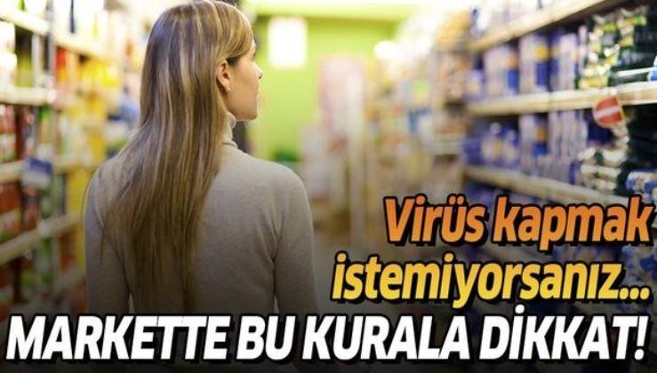 Bilim Kurulu Üyesi Prof. Tevfik Özlü uyardı: Markete gittiğinizde bu kurallara dikkat!