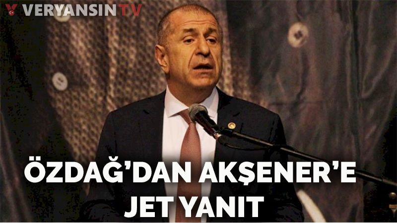 Ümit Özdağ'dan Meral Akşener'e jet yanıt: Gerçek olmayan dört açıklama yaptınız
