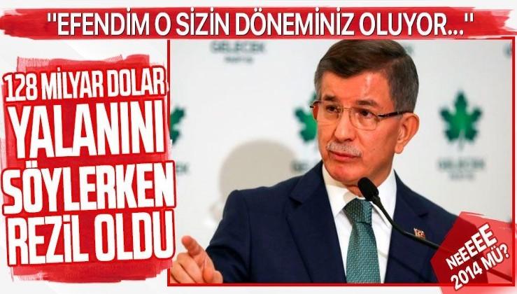 Ahmet Davutoğlu komik duruma düştü!