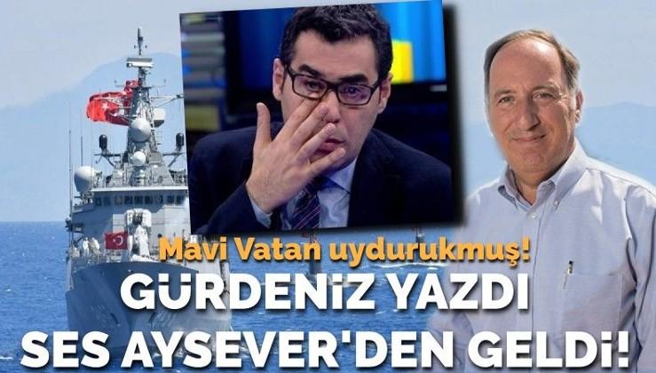 Amiral Gürdeniz yazdı, ses Cumhuriyet'in liberal 'sol'cusundan geldi!