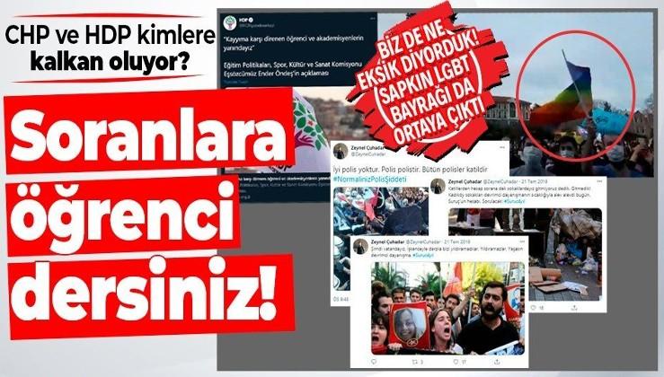 Boğaziçi'nde gözaltına alınan Z. Çuhadar'ın terör örgütlerine destek veren paylaşımları ortaya çıktı