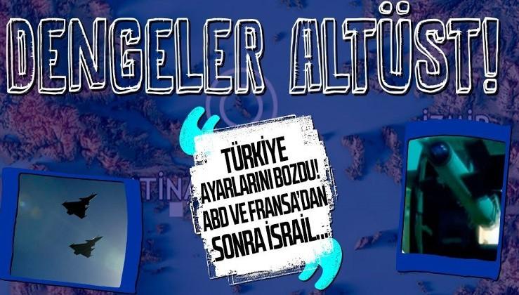 Türkiye tüm ayarlarını bozdu! Yunanistan ABD ve Fransa'dan sonra şimdi de İsrail'e sığındı!