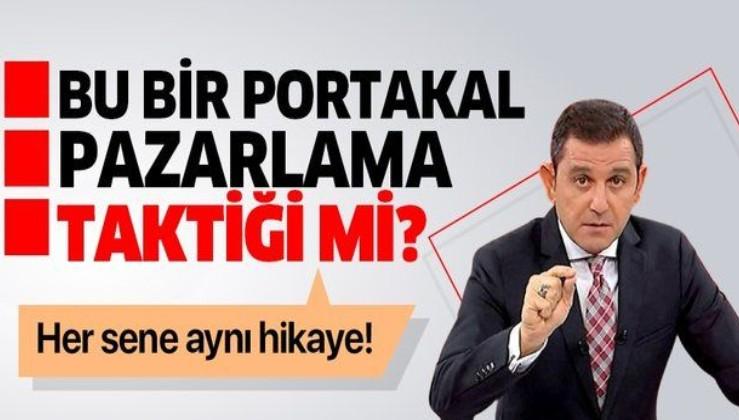 FOX TV sunucusu Fatih Portakal'ın istifa ettiği iddiası bir reklam çalışması mı?