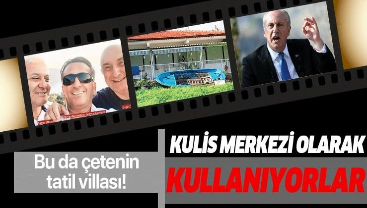 Muharrem İnce'nin bahsettiği CHP'deki çetenin bir de tatil villası ortaya çıktı.