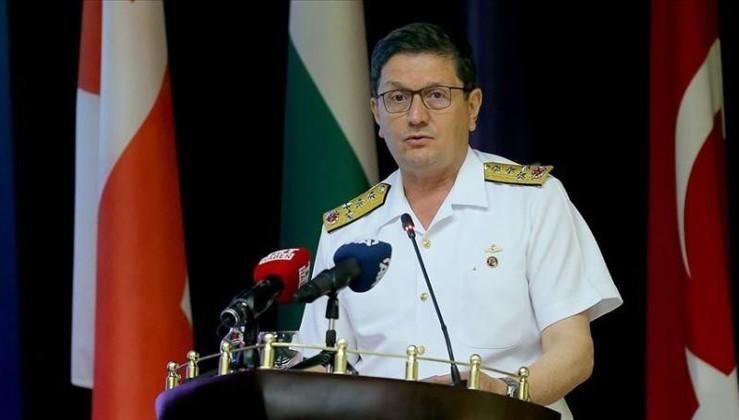 Oramiral Özbal: Deniz güvenliği için işbirliği kaçınılmaz