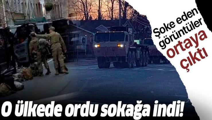 Ordu sokağa indi!