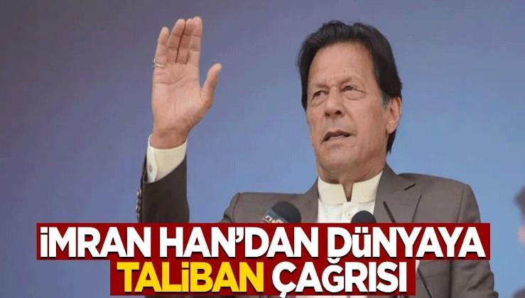 Pakistan Başbakanı İmran Han'dan dünyaya Taliban çağrısı