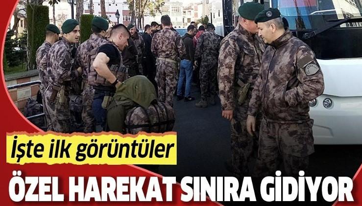 Son dakika: Bakan Soylu duyurmuştu... Polis Özel Harekat, sınır hattına gidiyor!.