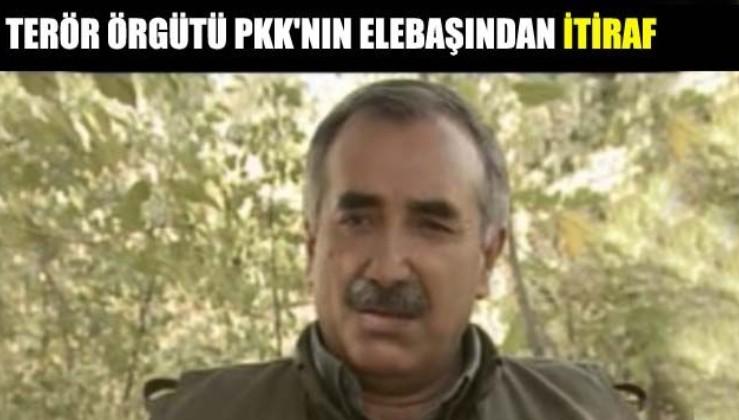 """PKK elebaşı Murat Karayılan'dan itiraf: """"Türk istihbaratı çok güçlü"""""""