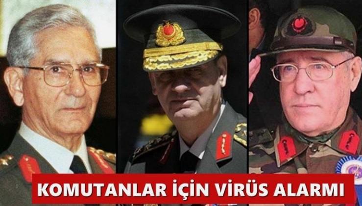 Komutanlar için virüs alarmı
