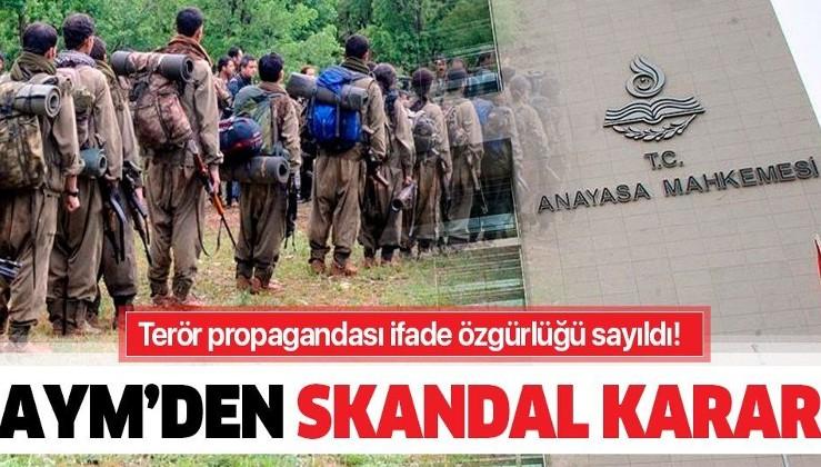 PKK liderini övmek ifade özgürlüğü sayıldı
