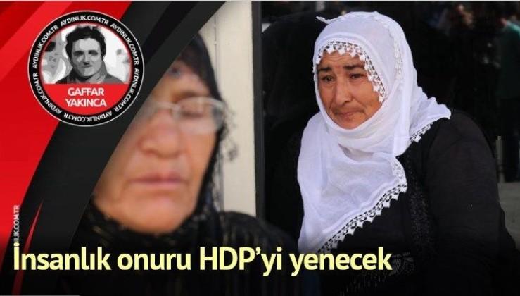 UMUDUN TEK KİŞİLİK ORDUSU: HACİRE ANA/İnsanlık onuru HDP'yi yenecek
