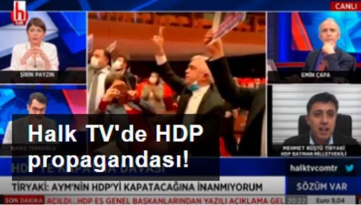 Halk TV, HDP'ye sahip çıktı!