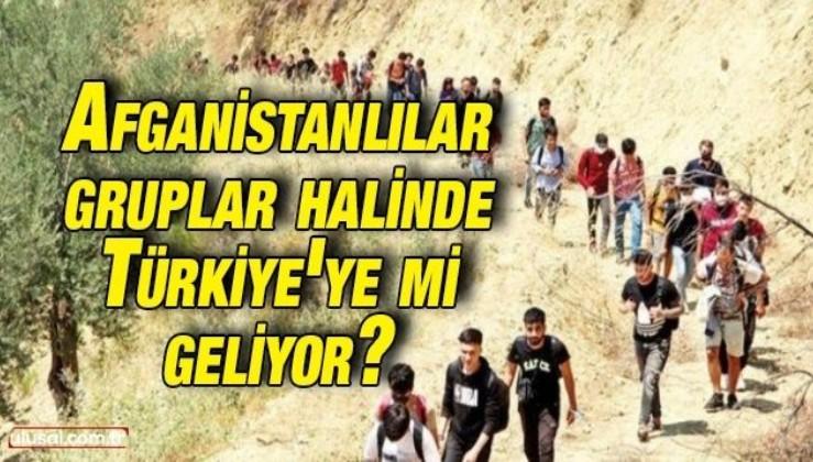 Afganistanlılar gruplar halinde Türkiye'ye mi geliyor? Bakanlıktan açıklama geldi