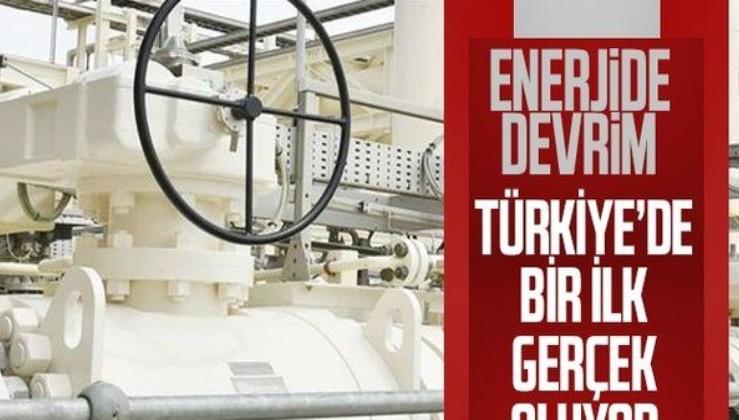 Türkiye'de bir ilk: Hidrojenli doğal gaz geliyor! Açılış bugün...
