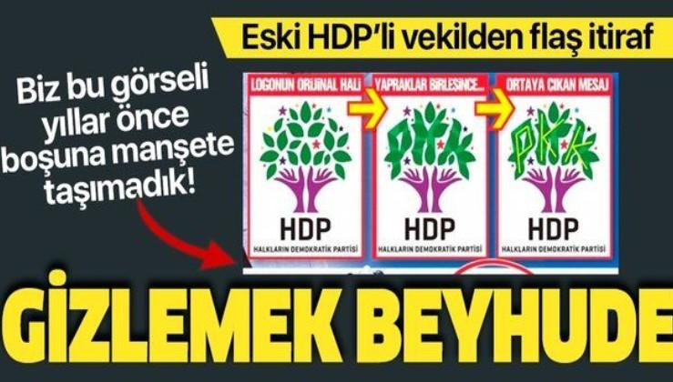 Eski HDP'li milletvekili Altan Tan'dan PKK ile iş birliği itirafı: Gizlemek beyhude!