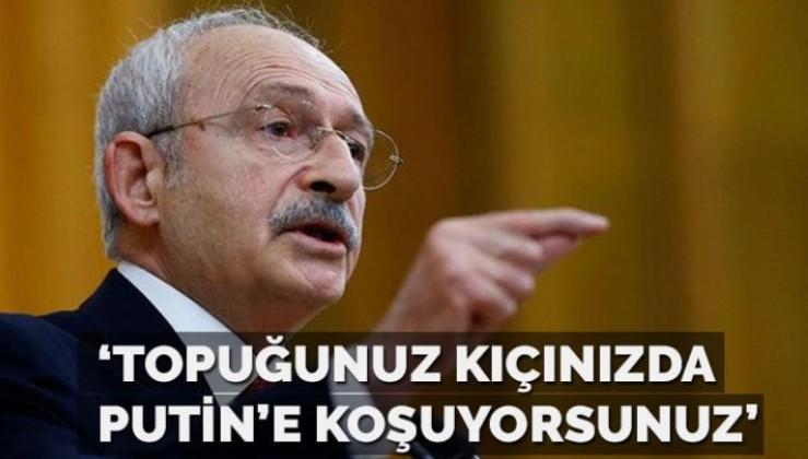 Kılıçdaroğlu: Rusya,Suriye düşmanımızdır, topuğunuz kıçınızda Putin'e koşuyorsunuz
