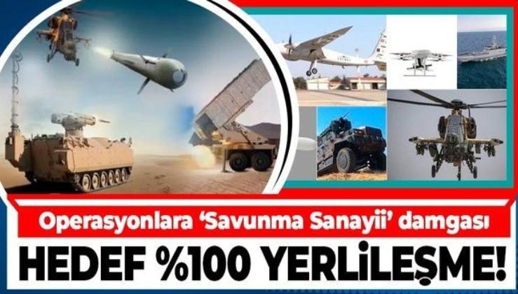 Savunma Sanayii Başkanı İsmail Demir: Hedefimiz kritik sektörlerde % 100 yerlileşme