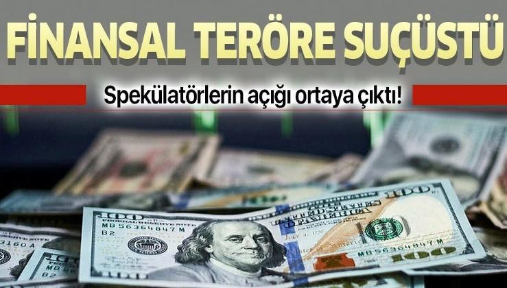Finansal teröre suçüstü! Açıkları ortaya çıktı!