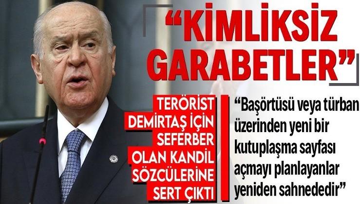 """Son dakika: MHP Genel Başkanı Bahçeli'den zehir zemberek açıklama: """"Türkiye'nin sırtındaki habis kamburlar"""""""