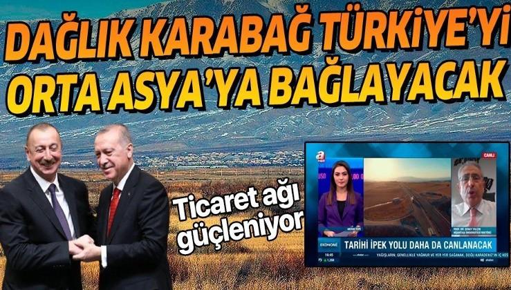 Azerbaycan ile Türkiye arasındaki ticaret ağı güçleniyor: Karabağ, Türkiye'yi Orta Asya'ya bağlayacak