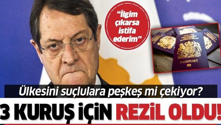 Rum lider Nikos Anastasiadis'in başı dertte! Altın pasaport iddiaları başını ağrıtacak | Altın pasaport nedir? Altın pasaportu kimler alır?