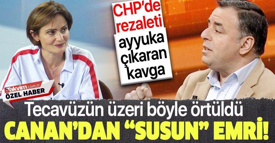 """Canan Kaftancıoğlu """"şov"""" dedi Barış Yarkadaş'tan jet yanıt geldi! CHP'yi karıştıran tecavüz skandalında kılıçlar çekildi"""