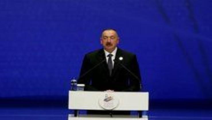 Azerbaycan Cumhurbaşkanı Aliyev'den Van'daki çığ felaketine ilişkin taziye mesajı.