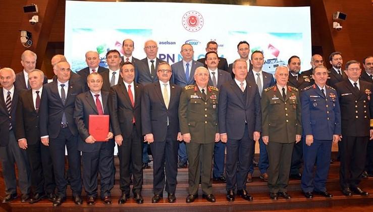 Pakistan'ın alacağı MİLGEM'ler için anlaşma imzalandı