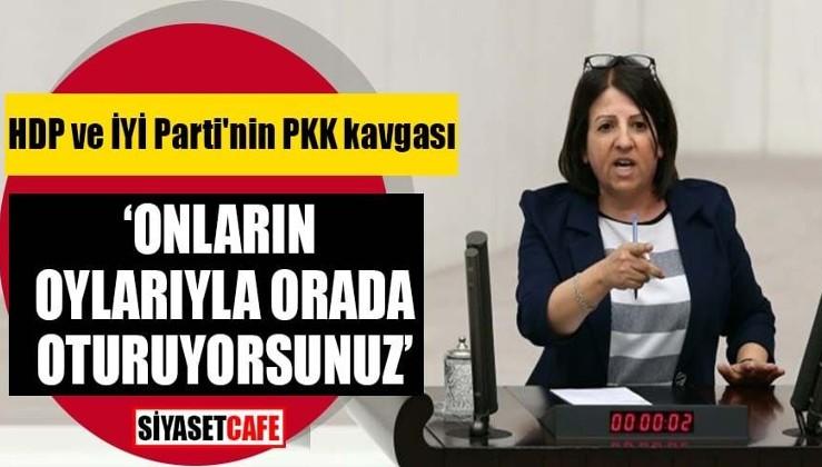 HDP'den İyi Parti'ye: Koltuğunuzda HDP ve PKK sayesinde oturuyorsunuz