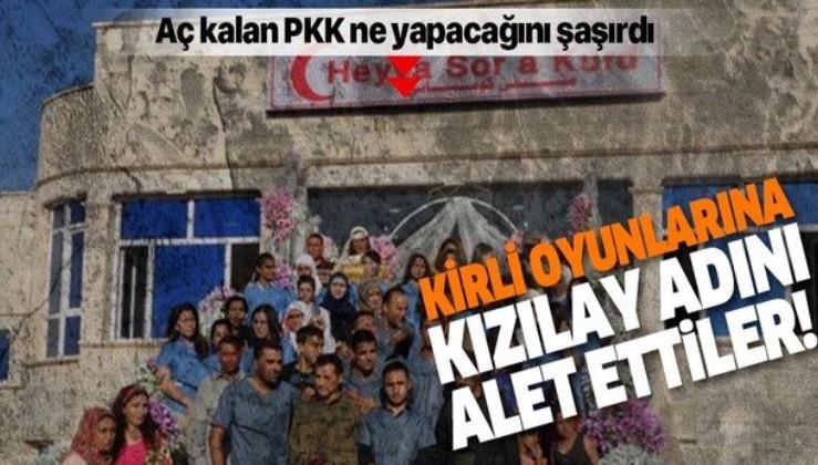 """PKK'dan yeni oyun! """"Kürt Kızılayı"""" adlı sahte oluşumla finans sağlamaya çalışıyor!."""