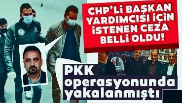 PKK operasyonunda yakalanan Şişli Belediye Başkan Yardımcısı Cihan Yavuz için istenen ceza belli oldu