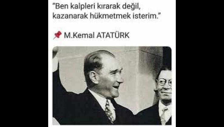 Atatürk, Soner Polat, liderlik üzerine...