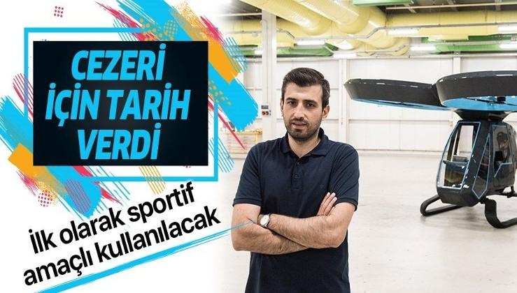 BAYKAR Teknik Müdürü Selçuk Bayraktar uçan araba Cezeri için tarih verdi