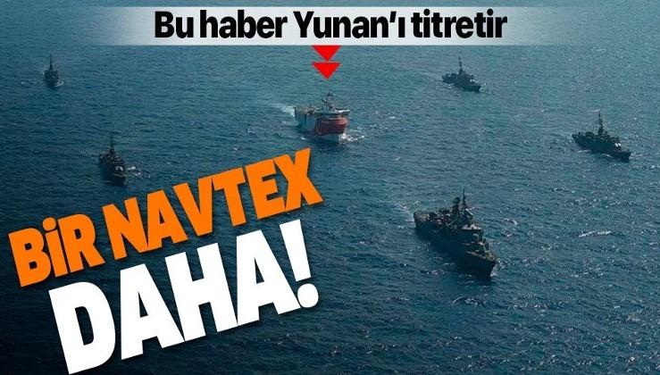 Son dakika: Türkiye'den Oruç Reis için yeni NAVTEX!