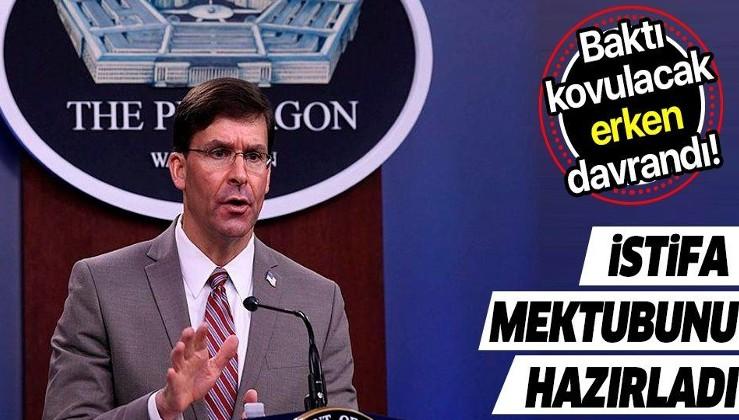 ABD'de başkanlık seçimleri belirsizliğini korurken Savunma Bakanı Mark Esper'in istifa edeceği iddia edildi