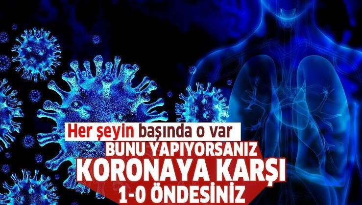 Corona virüs ile mücadelede altın anahtar 'akciğerin güçlendirilmesi'! Bağışıklığa da faydası büyük