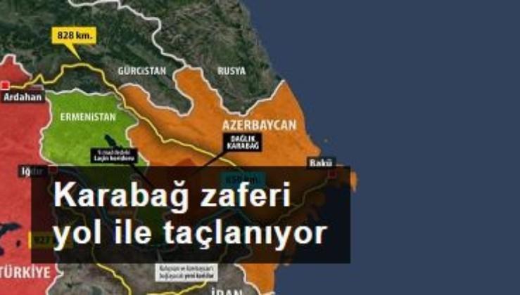 Karabağ zaferi Türk yolu ile taçlanıyor